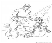 frozen 20 coloring pages