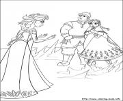 disneys frozen theme easter colouring page coloring pages