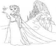 Printable frozen 244f coloring pages