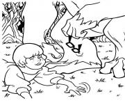 Print velma lost her glasses scooby doo 883c coloring pages