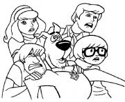 all scared but scooby doo a4b0 coloring pages