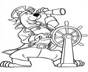 Print captain scooby doo  e14493858724680202 coloring pages