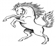 Print horse s spirit9a8d coloring pages