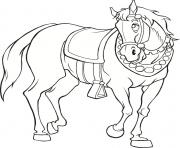 Print medieval horse s freec655 coloring pages