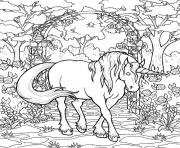 Printable mythical horse sb0e5 coloring pages