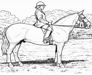 Printable derby horse s7e91 coloring pages