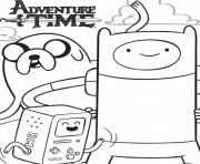 Printable adventure time s3da1 coloring pages
