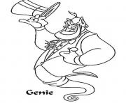 aladdin s genie584b coloring pages