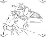aladdin offers a ride disney coloring pages259a coloring pages