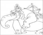 Print aladdin on an elephant disney coloring pages7c55 coloring pages