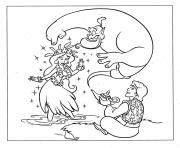 cartoon aladdin se2e0 coloring pages