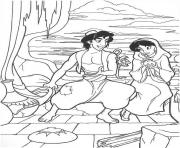 jasmine undercover disney s10d3 coloring pages