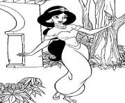 aladdin s princess jasmine7ba3 coloring pages