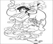 aladdin and friends disney coloring pages4586 coloring pages