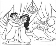 Print aladdin got advice from jasmines dad disney coloring pagesd8fb coloring pages