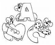 Printable alphabet s printable abc printable924d coloring pages