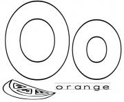fruit alphabet s orange418a coloring pages