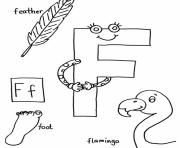 words of f free alphabet s7848 coloring pages