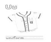 u for uniform alphabet s free58a1 coloring pages
