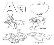alphabet s b wordsf2f9 coloring pages
