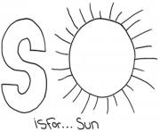 Printable alphabet  sun9e09 coloring pages