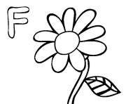 Print free alphabet s flower ff4dd coloring pages