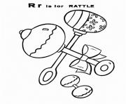 rattle free alphabet s4e62 coloring pages