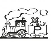 train p free alphabet s28ef coloring pages