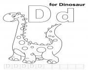 Print dinosaur printable alphabet s3022 coloring pages