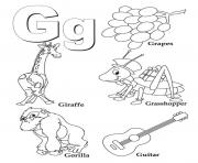 coloring pages alphabet g3a6b coloring pages