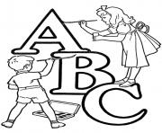 Print alphabet s printable abc coloring kidsf593 coloring pages