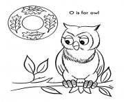 Print alphabet s o is for owld613 coloring pages