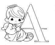 alphabet s printable a for angel2ef2 coloring pages