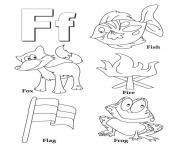 free alphabet s words of f4039 coloring pages