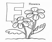 flower free alphabet s printable0180 coloring pages