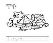 Print toys alphabet db76 coloring pages
