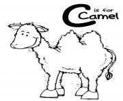 coloring pages alphabet c is for camel7d67 coloring pages