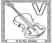 Print printable alphabet s violin2550 coloring pages