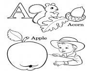 alphabet s printable apple acorn4859 coloring pages