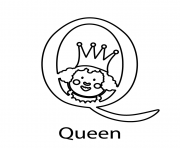 Print alphabet s queen0775 coloring pages