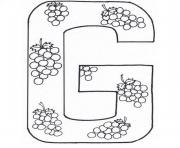 Print coloring pages alphabet fruits0084 coloring pages