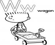 free alphabet s wagoneb93 coloring pages
