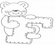 Print cute free alphabet sa47f coloring pages