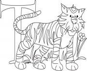 alphabet  tiger printablecc5c coloring pages