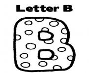 letter b alphabet s free5056 coloring pages
