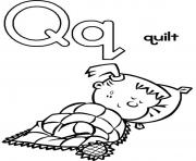 quilt alphabet sebf4 coloring pages