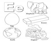 Printable alphabet s free words for ea3a4 coloring pages