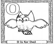 owl alphabet s3e88 coloring pages