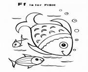 Print fish free alphabet s1fc1 coloring pages
