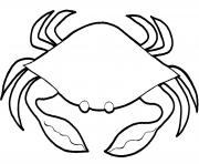 coloring pages of sea animals crab0dd3